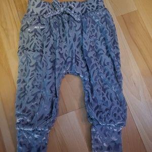 Jessica simpson velour pants